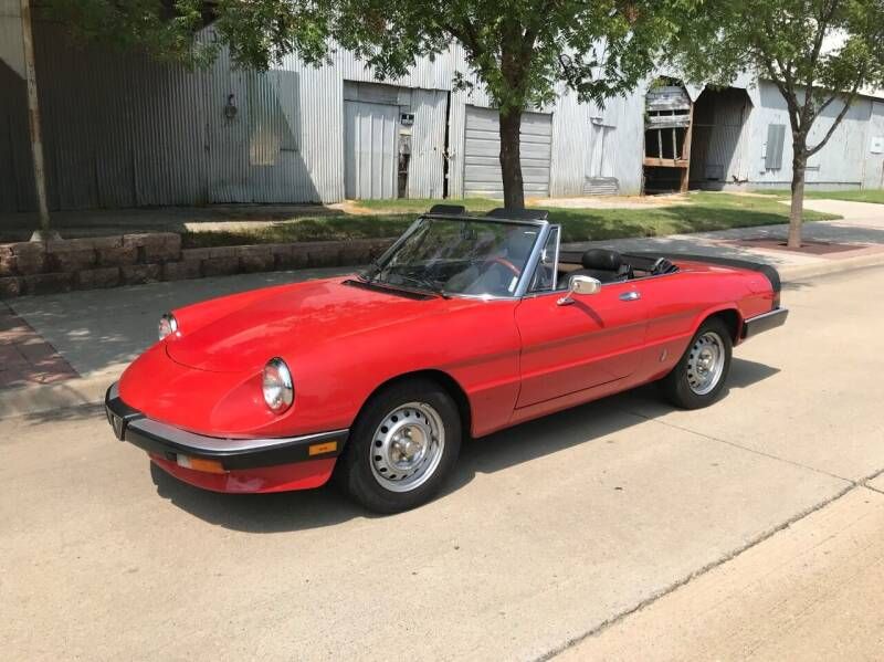 1985 Alfa Romeo Spider for sale at Enthusiast Motorcars of Texas in Rowlett TX