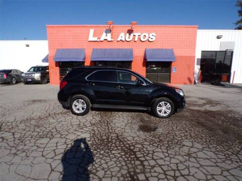 2013 Chevrolet Equinox for sale at L A AUTOS in Omaha NE