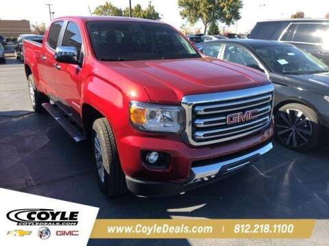 2017 GMC Canyon for sale at COYLE GM - COYLE NISSAN - New Inventory in Clarksville IN