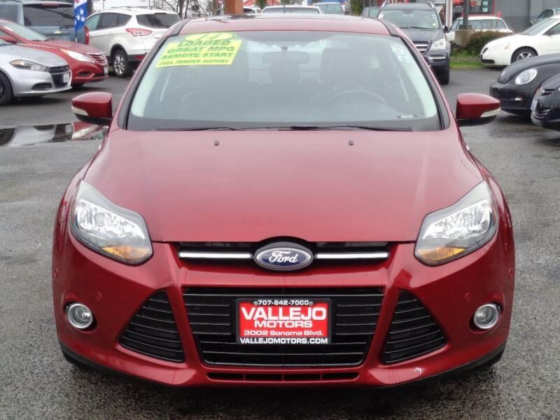 2014 Ford Focus for sale at Vallejo Motors in Vallejo CA