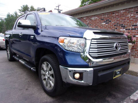 2015 Toyota Tundra for sale at Certified Motorcars LLC in Franklin NH