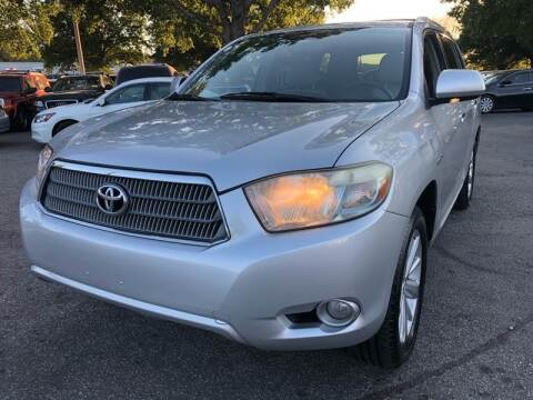 2008 Toyota Highlander Hybrid for sale at Atlantic Auto Sales in Garner NC