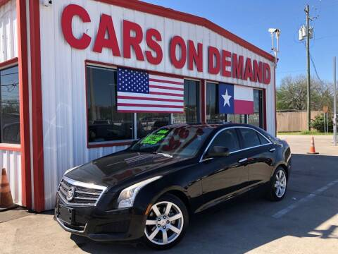 2014 Cadillac ATS for sale at Cars On Demand 3 in Pasadena TX