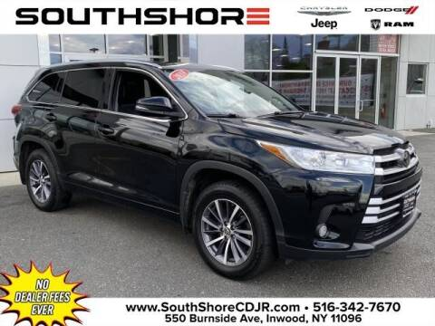 2018 Toyota Highlander for sale at South Shore Chrysler Dodge Jeep Ram in Inwood NY