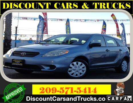 2006 Toyota Matrix for sale at Discount Cars & Trucks in Modesto CA