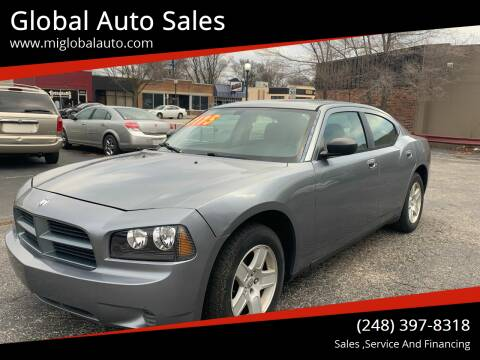 2007 Dodge Charger for sale at Global Auto Sales in Hazel Park MI