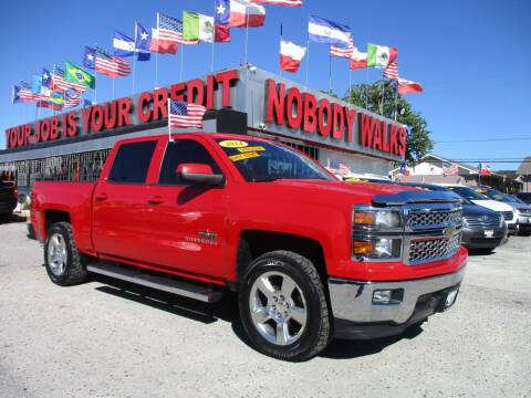 2014 Chevrolet Silverado 1500 for sale at Giant Auto Mart 2 in Houston TX