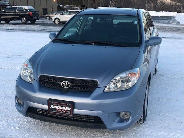 2008 Toyota Matrix for sale at Anamaks Motors LLC in Hudson NH