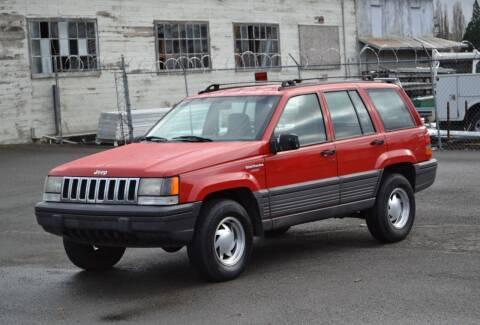 1993 Jeep Grand Cherokee for sale at Skyline Motors Auto Sales in Tacoma WA