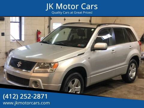 2008 Suzuki Grand Vitara for sale at JK Motor Cars in Pittsburgh PA