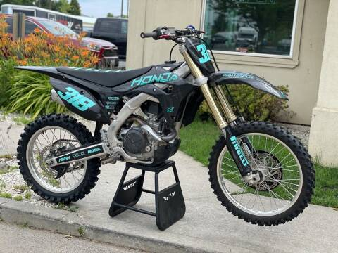 2018 Honda CRF 450R for sale at Harper Motorsports-Powersports in Post Falls ID