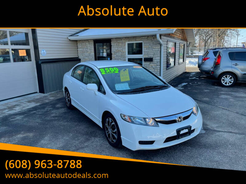 2011 Honda Civic for sale at Absolute Auto in Baraboo WI