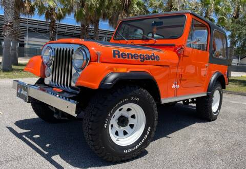1978 Jeep CJ-7 for sale at PennSpeed in New Smyrna Beach FL