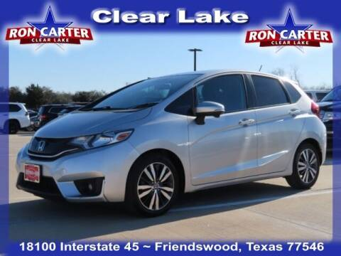 2015 Honda Fit for sale at Ron Carter  Clear Lake Used Cars in Houston TX