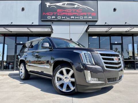 2015 Cadillac Escalade for sale at Exotic Motorsports of Oklahoma in Edmond OK