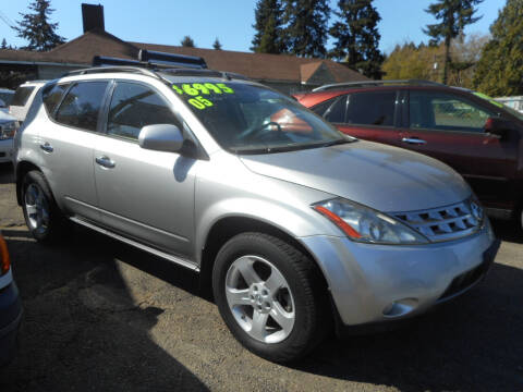2005 Nissan Murano for sale at Lino's Autos Inc in Vancouver WA
