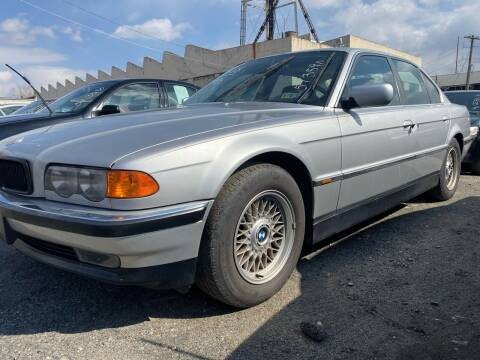 1999 BMW 7 Series for sale at Philadelphia Public Auto Auction in Philadelphia PA