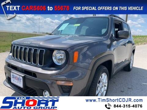 2019 Jeep Renegade for sale at Tim Short Chrysler in Morehead KY