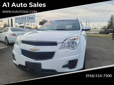 2011 Chevrolet Equinox for sale at A1 Auto Sales in Sacramento CA