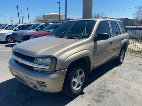 2005 Chevrolet TrailBlazer for sale at Silver Auto Partners in San Antonio TX