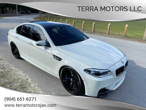 2015 BMW M5 for sale at Terra Motors LLC in Jacksonville FL