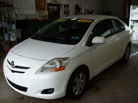2008 Toyota Yaris for sale at Summit Auto Inc in Waterford PA