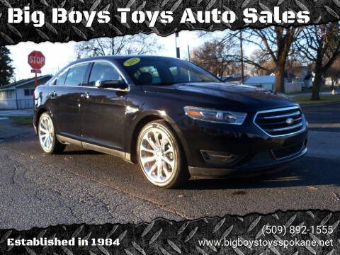 2019 Ford Taurus for sale at Big Boys Toys Auto Sales in Spokane Valley WA