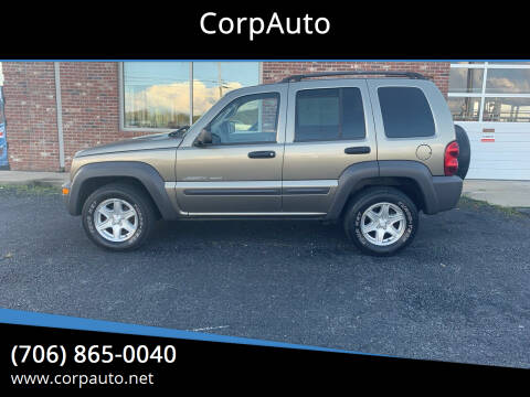 2003 Jeep Liberty for sale at CorpAuto in Cleveland GA