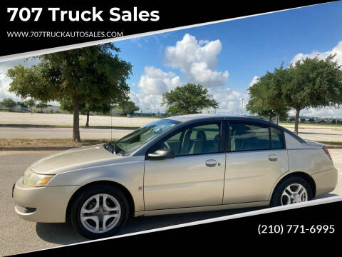 2003 Saturn Ion for sale at 707 Truck Sales in San Antonio TX