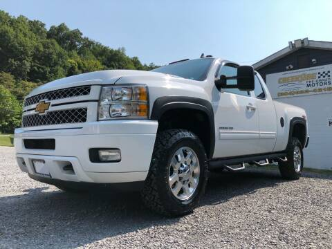 2013 Chevrolet Silverado 2500HD for sale at Creekside PreOwned Motors LLC in Morgantown WV
