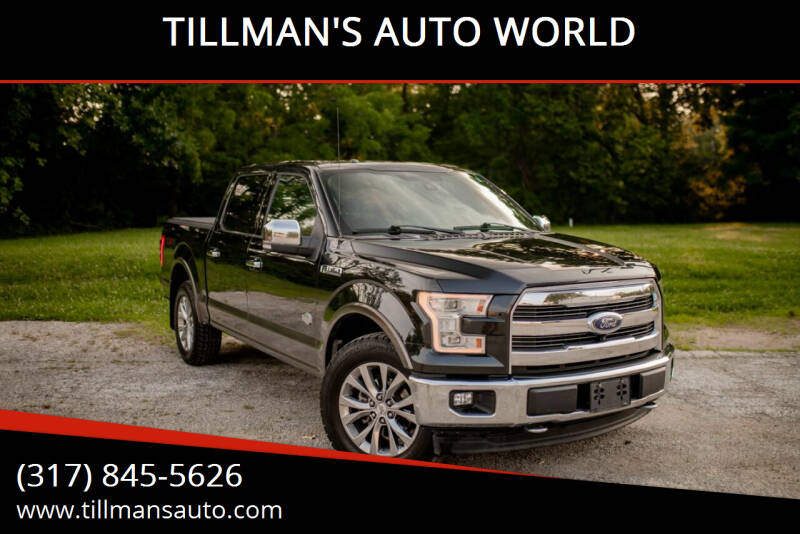 2015 Ford F-150 for sale at TILLMAN'S AUTO WORLD in Greenwood IN