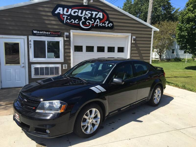2012 Dodge Avenger for sale at Augusta Tire & Auto in Augusta WI