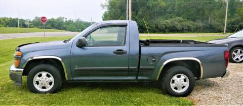 2006 GMC Canyon for sale at PINNACLE ROAD AUTOMOTIVE LLC in Moraine OH