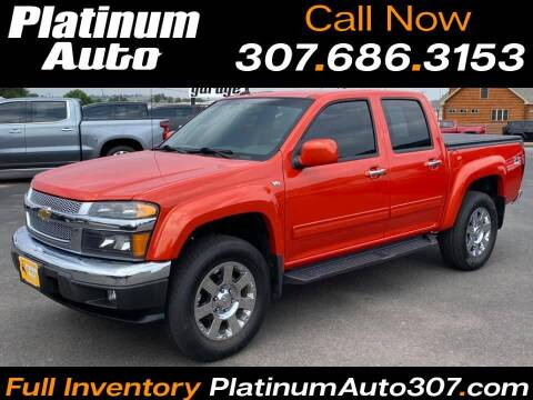 2012 Chevrolet Colorado for sale at Platinum Auto in Gillette WY
