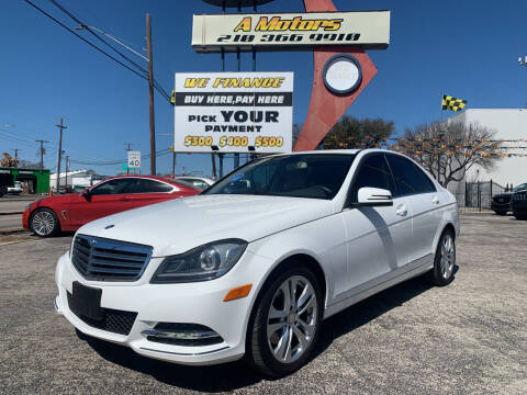 2013 Mercedes-Benz C-Class for sale at A MOTORS SALES AND FINANCE - 6226 San Pedro Lot in San Antonio TX