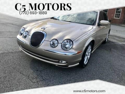 2001 Jaguar S-Type for sale at C5 Motors in Marietta GA