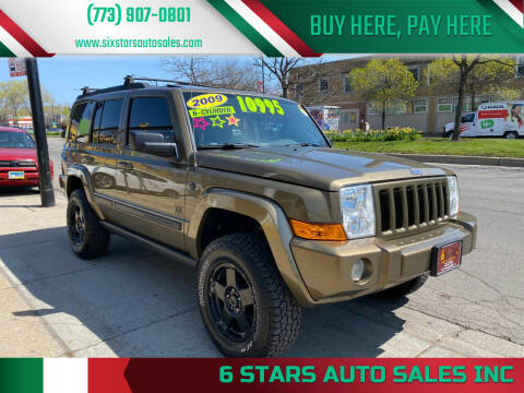 2009 Jeep Commander for sale at 6 STARS AUTO SALES INC in Chicago IL