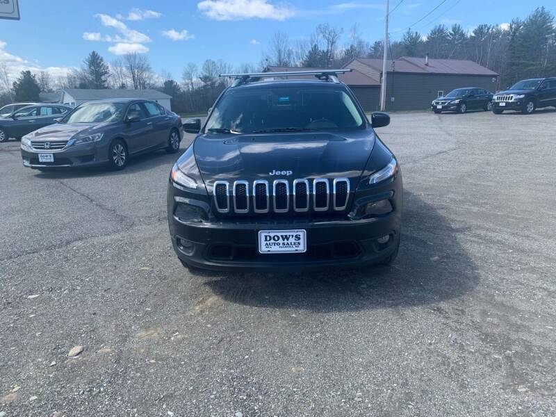 2014 Jeep Cherokee for sale at DOW'S AUTO SALES in Palmyra ME