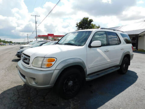 2003 Toyota Sequoia for sale at WOOD MOTOR COMPANY in Madison TN