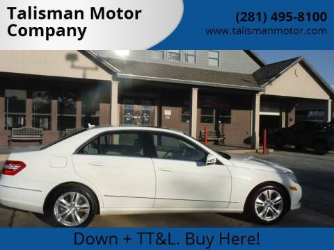 2010 Mercedes-Benz E-Class for sale at Don Jacobson Automobiles in Houston TX