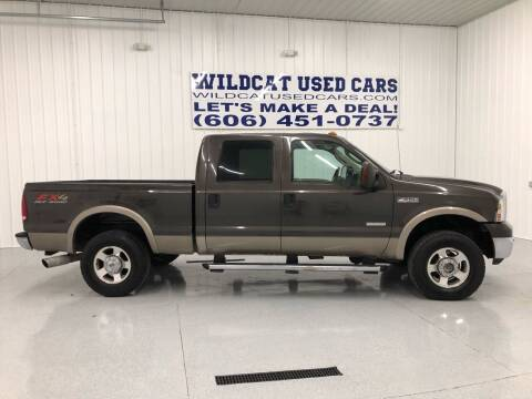 2006 Ford F-250 Super Duty for sale at Wildcat Used Cars in Somerset KY