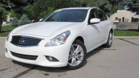 2013 Infiniti G37 Sedan for sale at BORGES AUTO CENTER, INC. in Taunton MA