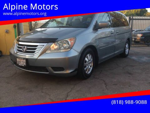 2010 Honda Odyssey for sale at Alpine Motors in Van Nuys CA