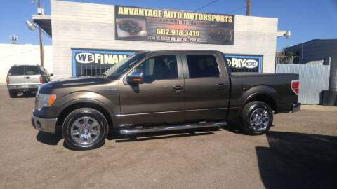 2009 Ford F-150 for sale at Advantage Auto Motorsports in Phoenix AZ