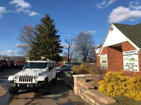 2014 Jeep Wrangler Unlimited for sale at Direct Sales & Leasing in Youngstown OH