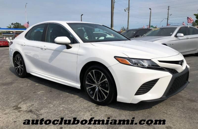 2018 Toyota Camry for sale at AUTO CLUB OF MIAMI in Miami FL
