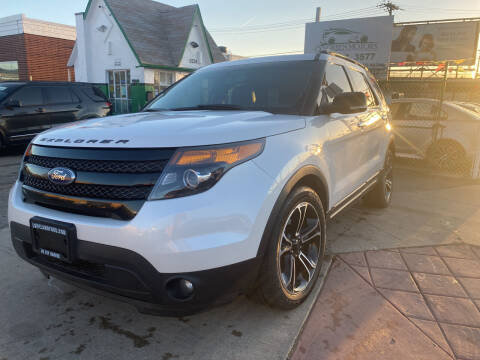 2014 Ford Explorer for sale at GO GREEN MOTORS in Denver CO