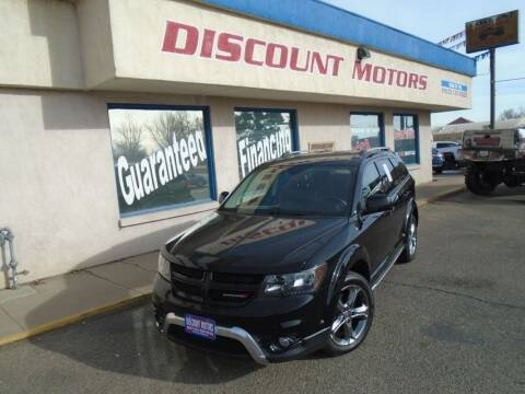 2017 Dodge Journey for sale at Discount Motors in Pueblo CO