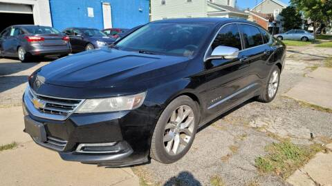2014 Chevrolet Impala for sale at M & C Auto Sales in Toledo OH
