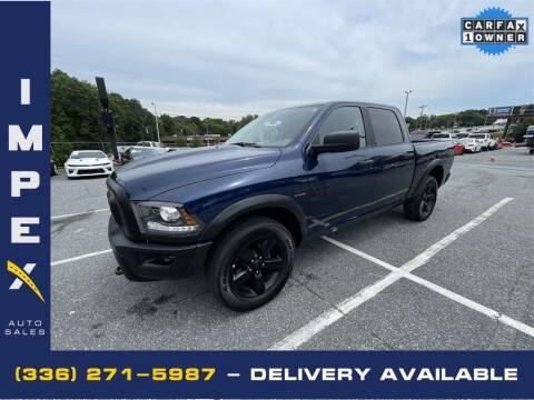 2020 RAM Ram Pickup 1500 Classic for sale at Impex Auto Sales in Greensboro NC